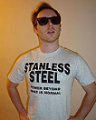 Stanless Steel Ash Gray T-shirt
